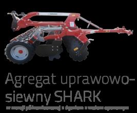 SHARK Agregat uprawowo-siewny w wersji półzawieszanej z dyszlem